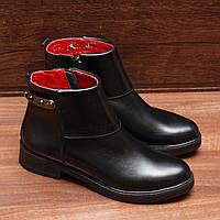 8010.1| Женские ботинки демисезонные на низком каблуке: 36; 37; 38; 39; 40