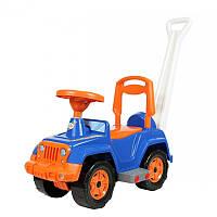 Машинка для катания с ручкой арт. 556, детская машинка-каталка, машинка для детей