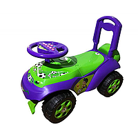 Машинка музыкальная, для катания АВТОШКА арт. 013117-02, детская машинка-каталка, машинка для детей
