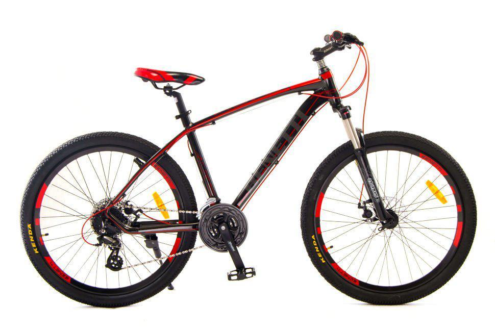 """Горный велосипед BENETTI ALTO 26"""" 18""""  Черный/Красный"""