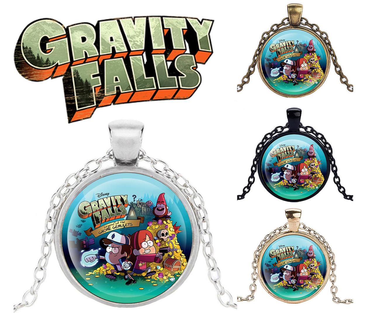 Кулон Gravity Falls Гравити Фолз со всеми персонажами