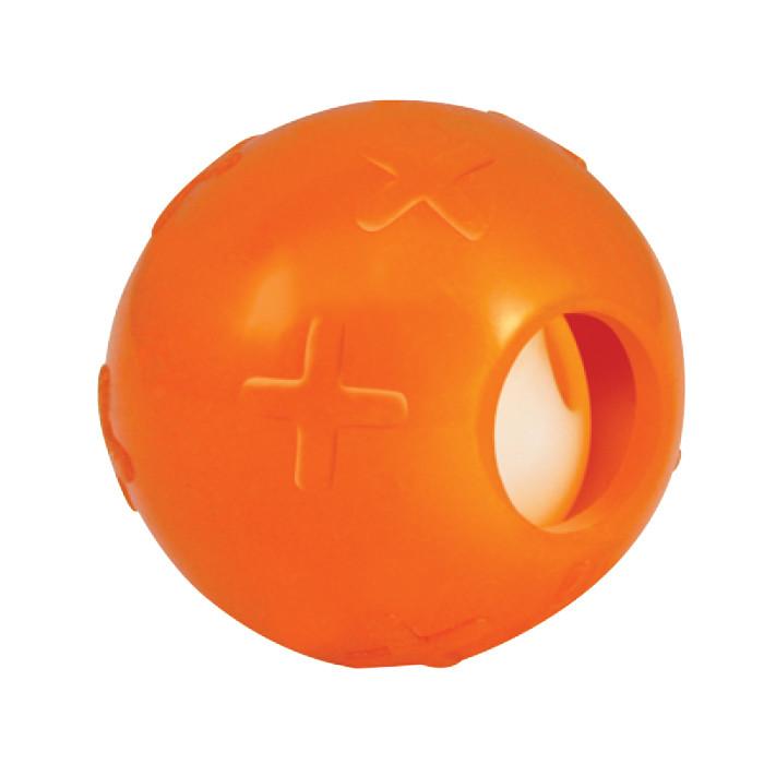 Petstages Orka Infused Bell - Мячик с колокольчиком и кошачей мятой - игрушка для кошек и котят