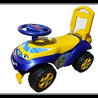 Машинка музыкальная, для катания АВТОШКА арт. 013117-04, детская машинка-каталка, машинка для детей