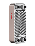 """Теплообменник паяный SWEP E6Tx20/1P-SC-S 4*3/4"""""""