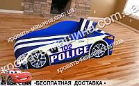 Кровать машина Полиция Элит от 1500х700, фото 1