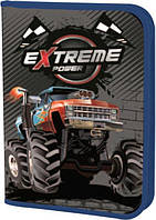 Пенал книжка Extreme power 1 вересня с 2мя отворотами