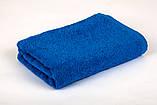Полотенце махровое 30х50см Синий 420гр Lotus, фото 2