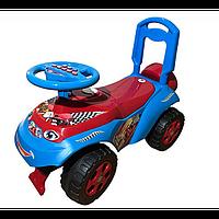 Машинка музыкальная, для катания АВТОШКА арт. 013117-12, детская машинка-каталка
