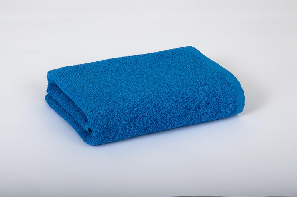 Полотенце махровое 70х140см Синий 420гр Lotus