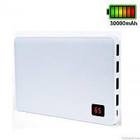 Повербанк power bank Remax Notebook PPP-7 30000mAh \ White, фото 1
