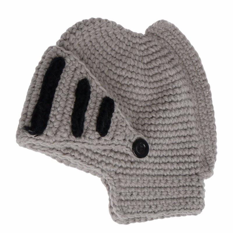 Зимняя шапка «Шлем рыцаря» с забралом (балаклава)!