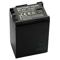 Аккумулятор для видеокамеры Canon BP-827, 3000 mAh.