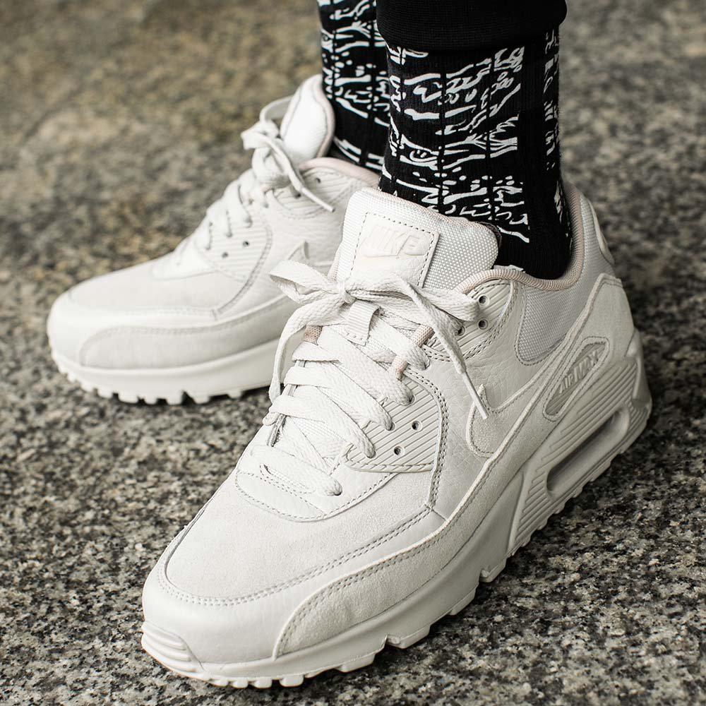 Оригинальные мужские кроссовки Nike Air Max 90 Premium  продажа ... 959db485e0c