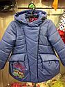 """Детская демисезонная куртка на девочку """"Совушки"""". Размеры 26 -32, фото 7"""
