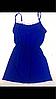 Комплект халат и пеньюар с кружевом 003 синий, фото 2