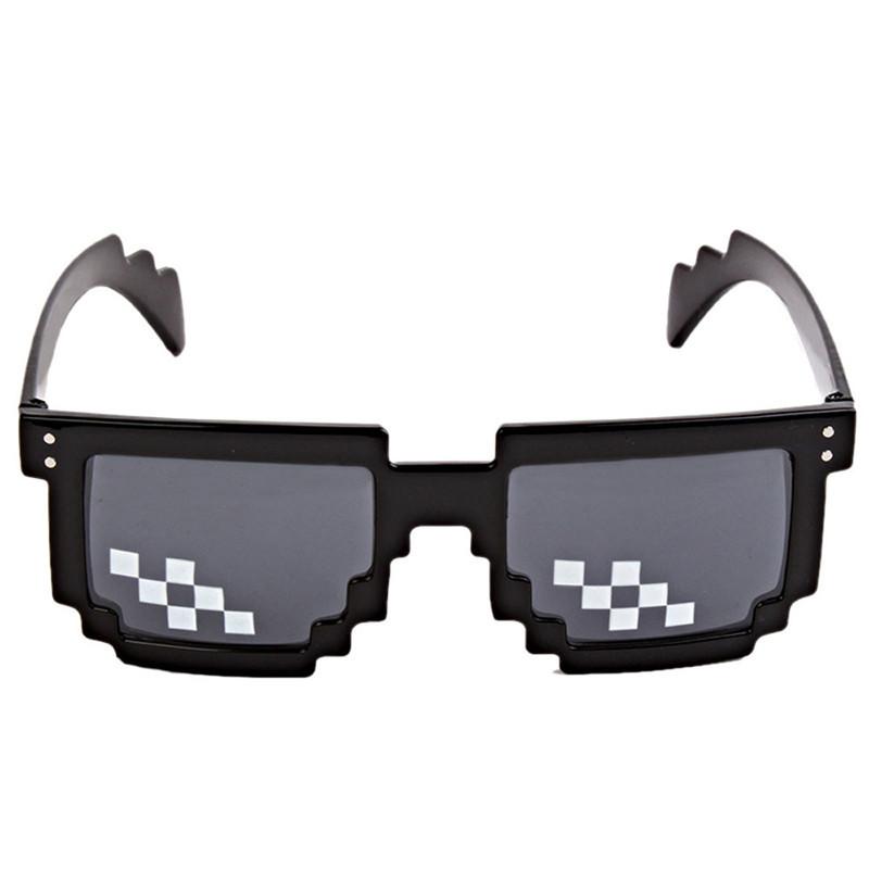 Пиксельные солнцезащитные очки по мотивам Minecraft!