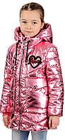Демисезонная куртка   для  девочек Love