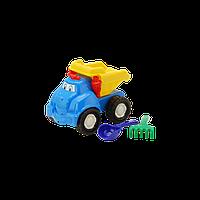 Машинка Смайл №1 арт. 0121 р. 19*20*15 см., игрушечная машина, грузовик, игрушка, лопатка, грабли для детей
