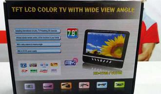 Автомобильный телевизор 7.8 дюймов HD USB SD ТВ 12 Вт