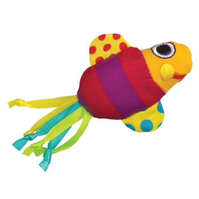 Petstages Fishy Fun - Рыбки с кошачьей мятой - Игрушка для кошек