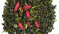 Зеленый чай с ягодами годжи и имбирем 200 г
