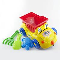 Машинка Собачка S 5555, игрушечный грузовик, машина, игрушка,, пасочки, лопатка, грабли для детей