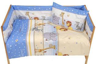 Наборы постельного белья в детскую кроватку 4 предмета