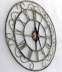 Часы настенные металлические (800 мм) [Металл, Открытые]