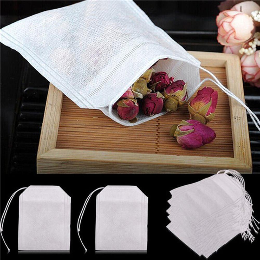 Пакетики для заваривания чая: набор 100 шт.!