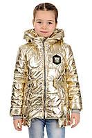 Весенняя  детская  куртка для девочек  Пчелка