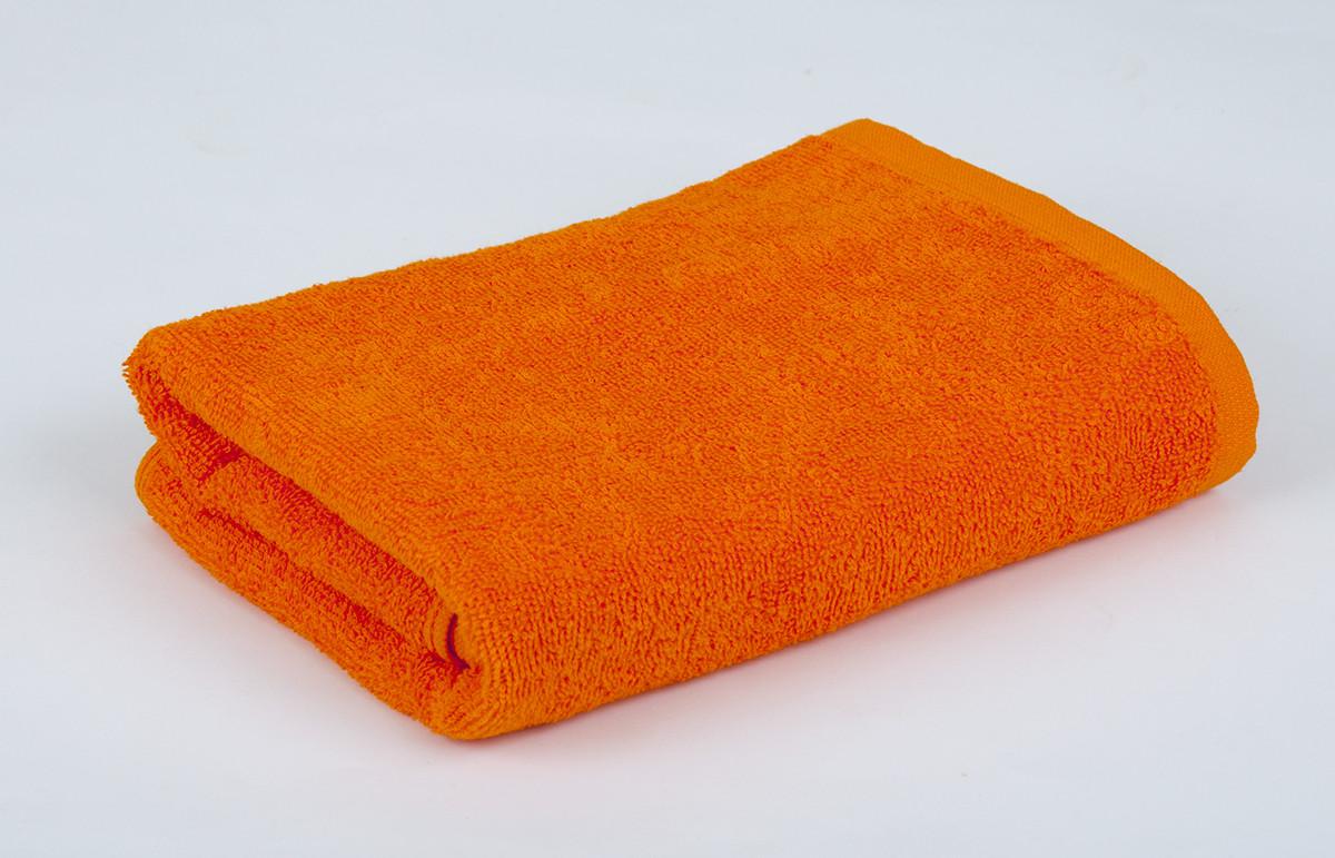 Полотенце махровое 30х50см Оранжевый 420гр Lotus