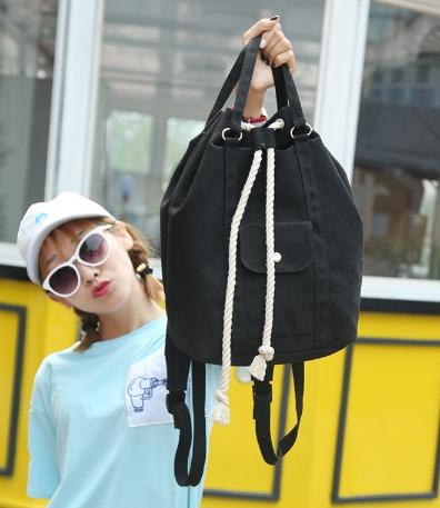 Рюкзак-сумка с затягивающей верёвкой