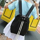 Рюкзак-сумка с затягивающей верёвкой, фото 2