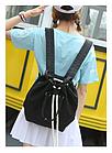 Рюкзак-сумка с затягивающей верёвкой, фото 4