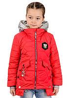 Демисезонная детская  куртка на девочку Пчелка