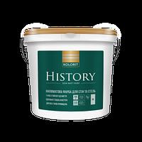 Краска Кolorit History  (Luxe), полуматовая 9л, БАЗА А