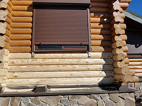 Дом шлифовался 2 раза. 1 - 40 зерно. 2 - 80 зерно.