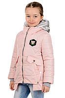 Весенняя детская куртка для девочки Пчелка
