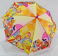 """Детский зонт трость """"Winx club"""" на 5-9 лет от фирмы """"Paolo"""""""