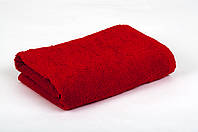 Полотенце махровое 50х90см Красный 420гр Lotus