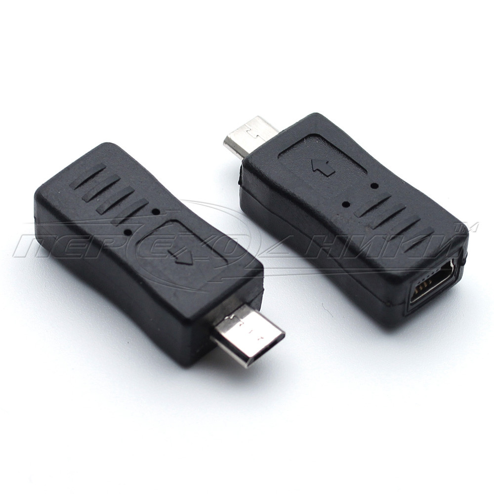 Переходник USB 2.0 micro AМ - mini AF