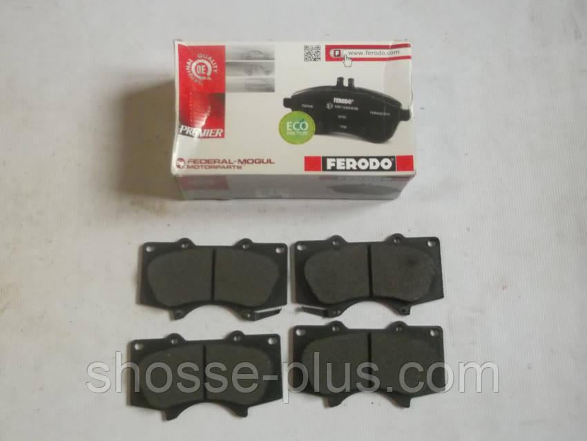Колодки тормозные передние FDB1698 Toyota Land Cruiser Prado 120 150 Lexus GX 460 470