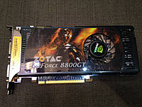 МОЩНАЯ Видеокарта Geforce 8800 GT на 512 mb и 256 bit c ГАРАНТИЕЙ
