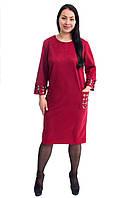 Нарядное платье с лазерным принтом 5502 (размер в наличии  54 ), фото 1