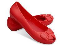 Женские балетки BERNARD Red, фото 1