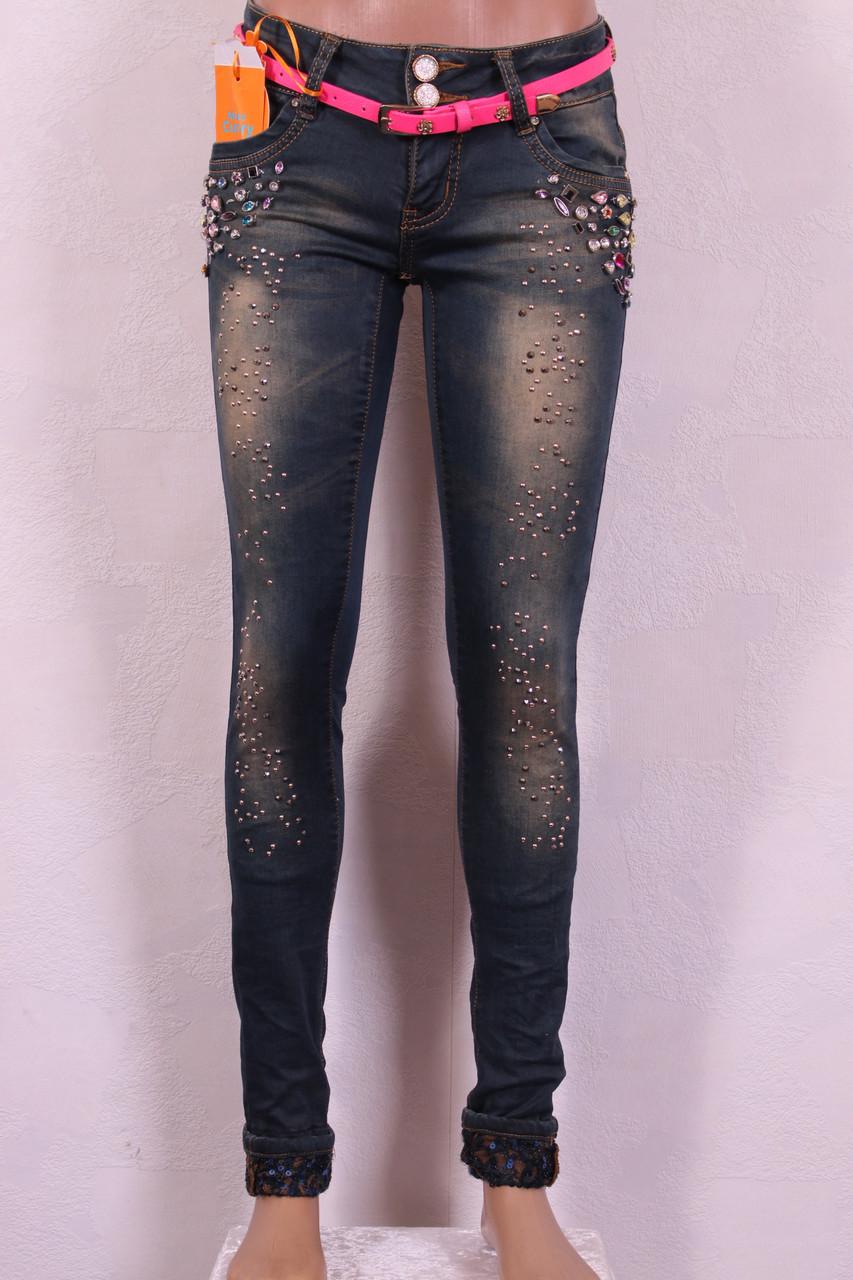 c3875c5b1e8 Женские джинсы со стразами купить недорого Украина - Интернет-магазин