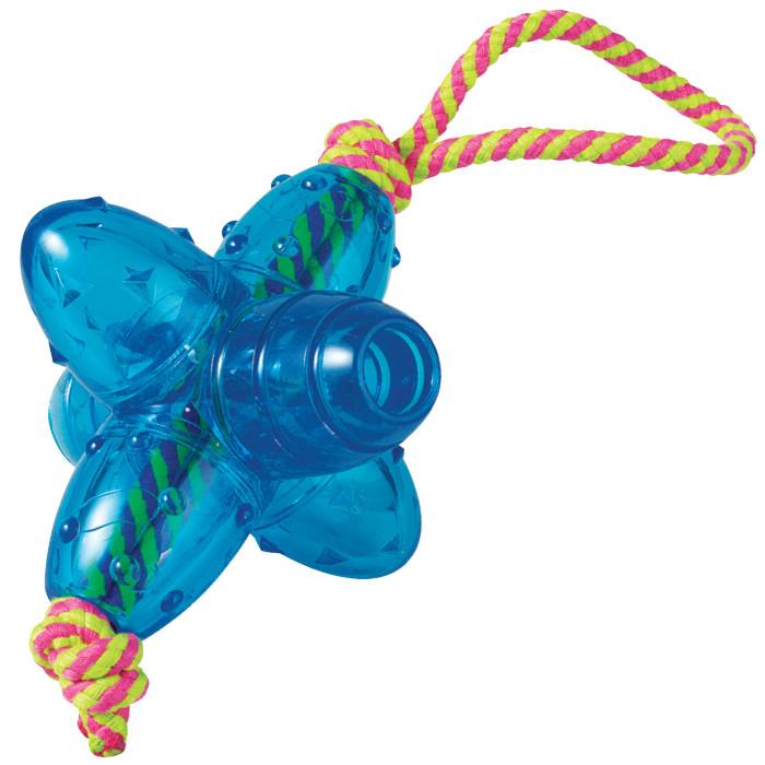 Petstages ORKA JACK, 15см - Орка Джек - игрушка с канатом для собак