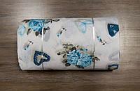 Ткань ранфорс Турция Rachel бирюзовый 95536 (220 ширина)