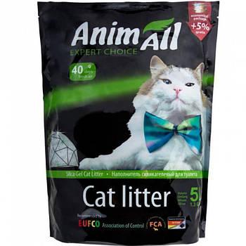 Силикагелевый наполнитель Энимал (AnimАll) кристаллы изумруда для котов, 5 л