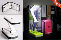 Лампа трансформер Apple для маникюра, детская, аккумуляторная настольная 2 режима 24 светодиода яркая мощная